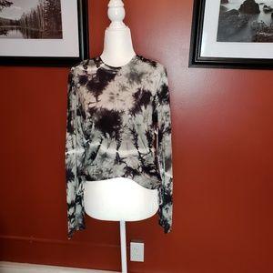 NWT Young, Fabulous & Broke tie dye top
